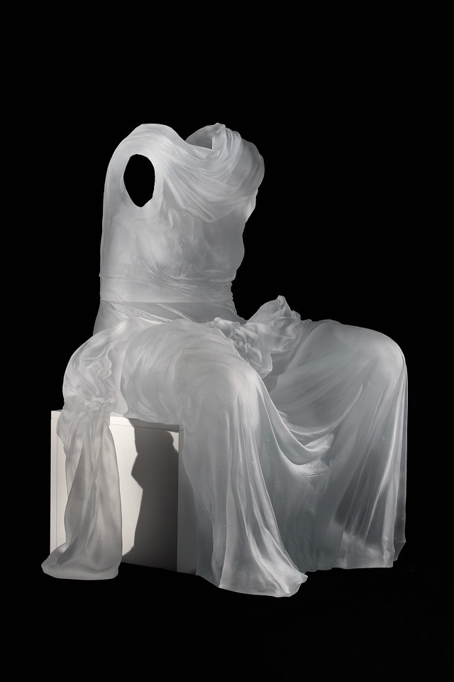Seated Dress Impression with Drapery