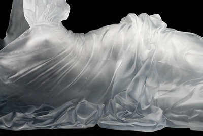 Reclining Dress Impression with Drapery