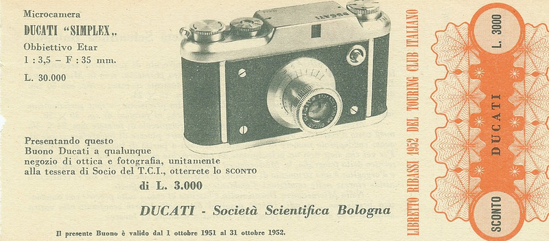Ticket to attend a meeting of the Society Scientifica in Bologna
