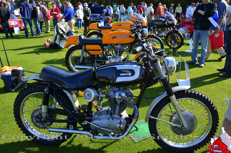 George Betzhold brought this lovely all original unrestored 1965 250 Scrambler