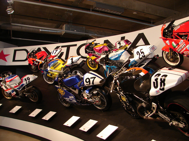 The Daytona bikes