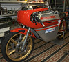 One of Stefano Caracci's first race bikes, when I was here in November it was unrestored.