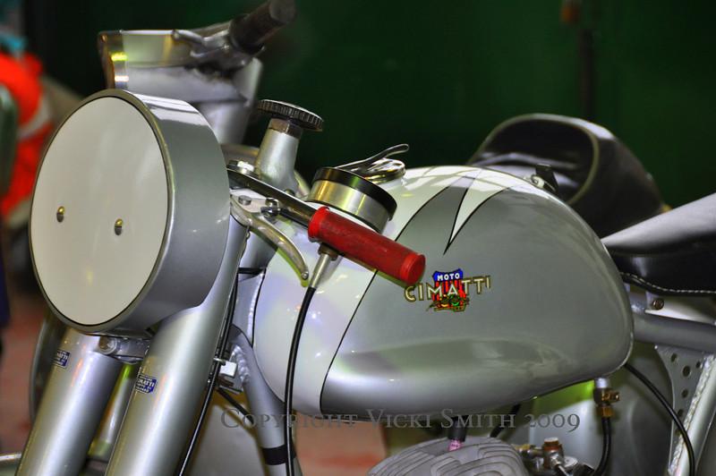 Another rare one, a Moto Cimatti (pronounced Chim-ma-tea)