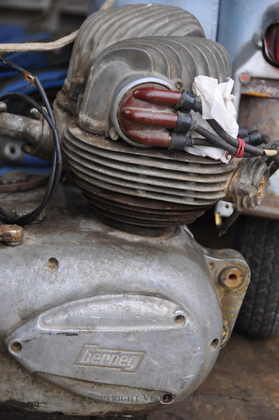 Or this - if you happened to need a spare Berneg motor (Bernegs are among the most obscure of the old Italian motorcycles) one really might look, well, forever.