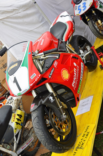 "It's not all ""vintage"". This year there were plenty of ""modern"" bikes for sale"