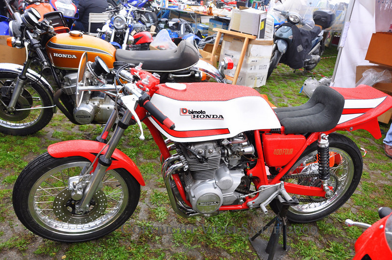 This Honda was at another booth, to show what parts they make and had for sale