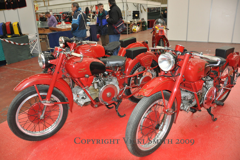 These displays accounted for some really good bikes to look at