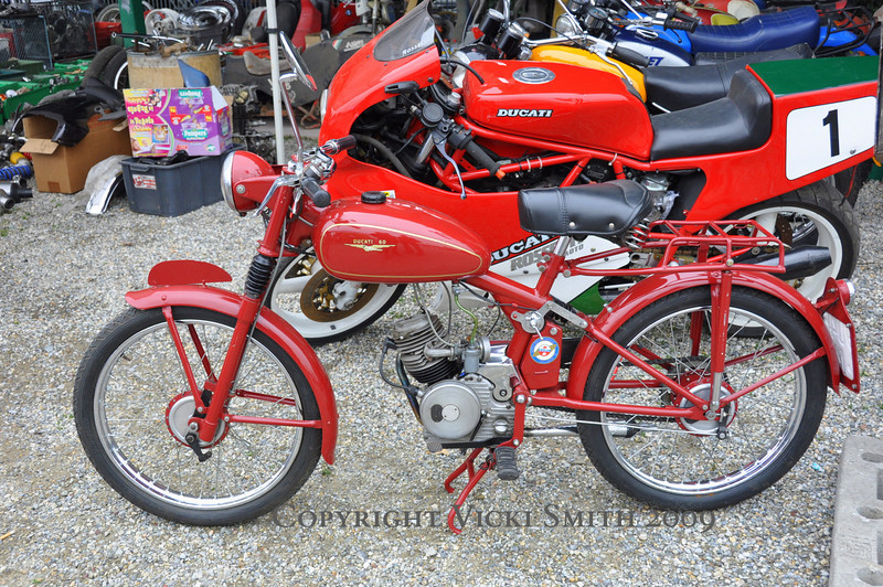 This Ducati 60 looked familier.....