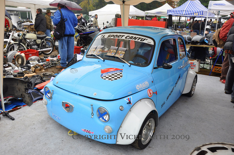 And a Fiat 500 racer