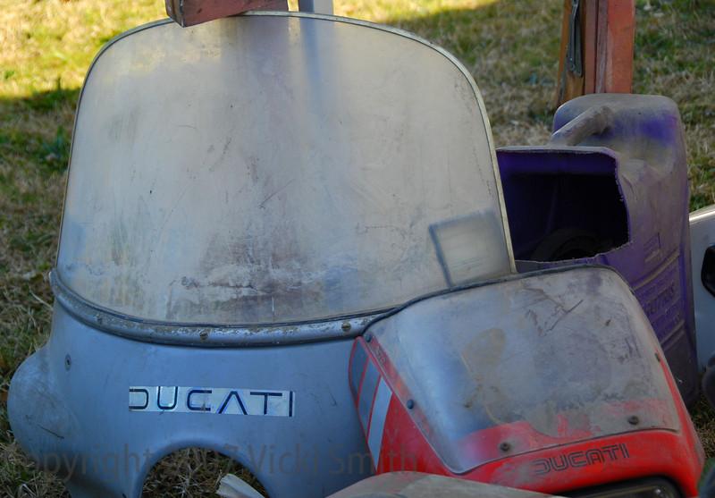 No, it's not really a Ducati windscreen.
