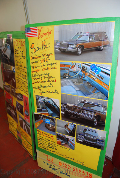 And then there was this beauty. Can you imagine driving this Family Truckster at 1.33 euros a litre