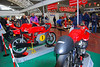 That's the FMI display. The bike on the far end is the Loris Cappirossi #65 Motogp Ducati