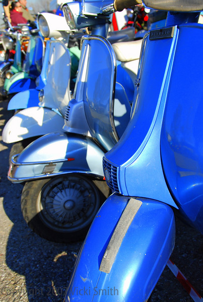 "And so we end where we begin, with a never ending line of  Vespas basking in the frosty air and Italian sunshine.<br /> <br /> Ciao!<br /> <br /> Vicki Smith<br /> <br /> (want to see more?  check out our other vintage event galleries: <a href=""http://photos.ducati.net/Museum-Ducati-Photos-Brochures/Museums-Swap-Meets-and"">http://photos.ducati.net/Museum-Ducati-Photos-Brochures/Museums-Swap-Meets-and</a>"