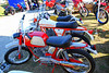 Not everything was in need of restoration, this man had a whole display of restored small cc dirt bikes