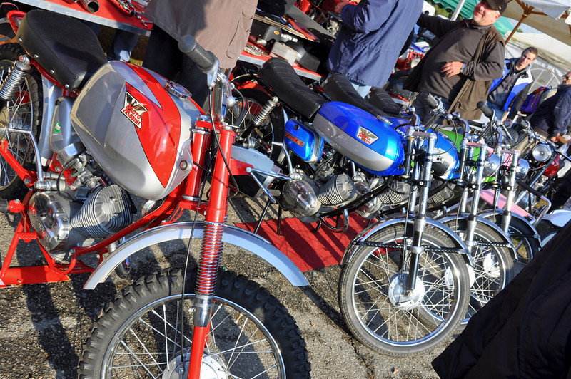 Pretty Moto Morini's all in a row