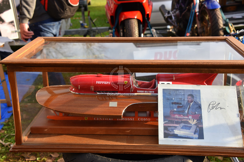 Ferrari boat model.  And yes, there is a real one that looks just like it