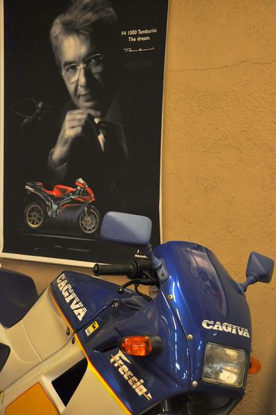 125cc Cagiva Freccia