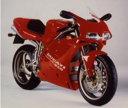 1994 Ducati 916 Ducati file photo provided to media