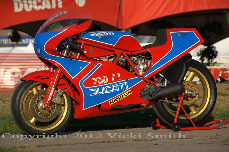 Ducati TT1 - Built by NCR for Ducati
