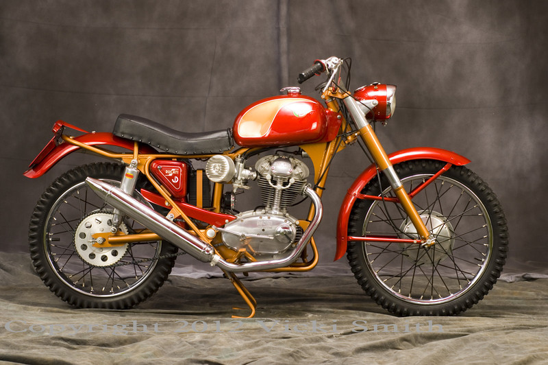 200 MotoCross - maybe the rarest production Ducati ever built