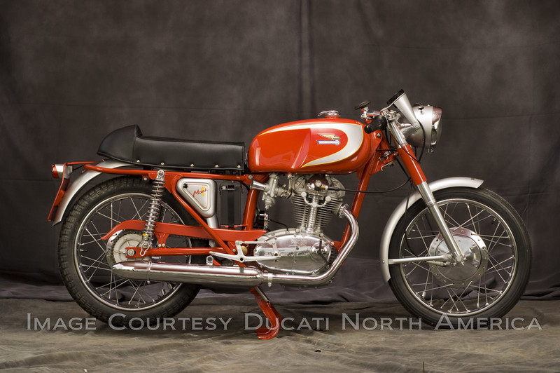 1966 250 Mach 1<br /> OWNER - Eric Reeves<br /> Condition - Restored<br /> The fastest production 250cc of it's era. Though not formally sold in the USA it remains one of the most desirable Ducati Singles worldwide.
