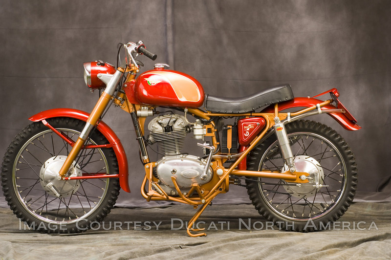 1960 200 Motocross<br /> OWNER - Jerry Dean<br /> Condition - Restored<br /> One of approximately 30 machines built on special order basis. Featured unique cradle frame.