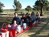 This mom's group visited during the 1999 Candy Cane Train