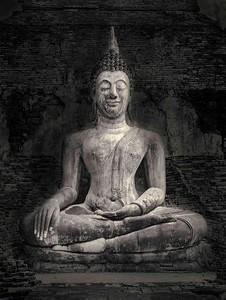 Sukhothai Buddha.