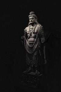 Gandhara Buddha at the Norton Simon Museum.