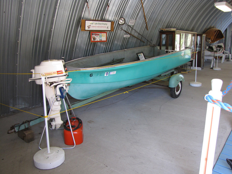 Shell Lake boat