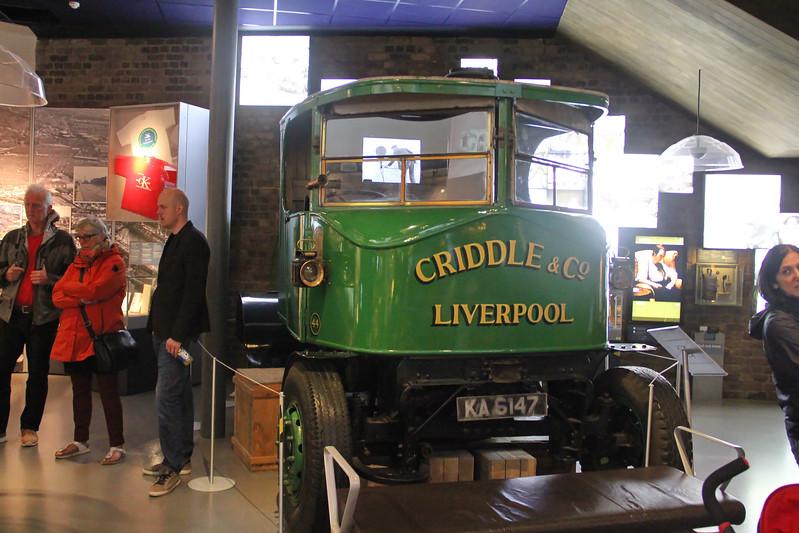 Liverpool Museum Steam Lorry KA6147 02 Sep 17