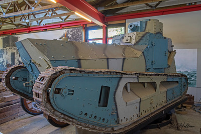 at Deutches Panzermuseum in Munster, Germany