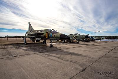F15 Flygmuseum, Söderhamn, Sweden