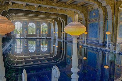 Roman pool, Hearst Castle