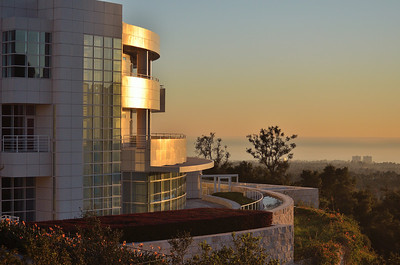Getty Center at sunset