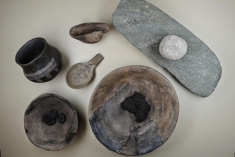 Küche in der Steinzeit