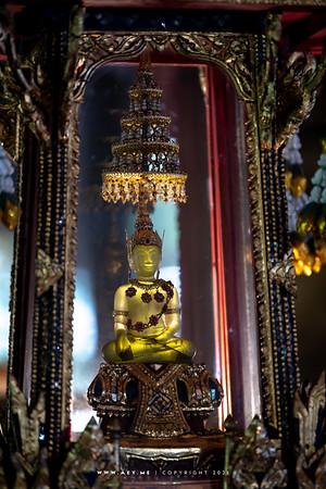 Phra Buddha Rattanamahamuni, Buddhaisawan Chapel, National Museum Bangkok