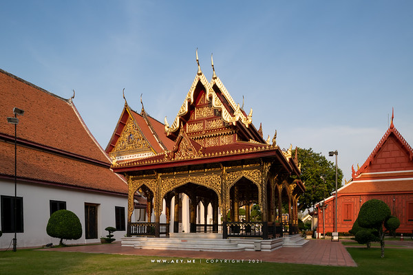 Samranmukkhamat Pavilion, National Museum, Bangkok