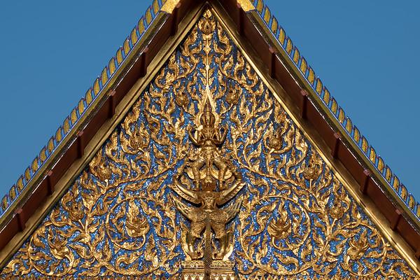 Narayana on Garuda, Siwamokkhaphiman Hall, National Museum Bangkok
