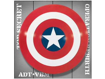 Museum Replicas 1960s Captain America Shield