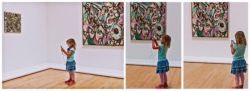 Getting an early start on art appreciation.