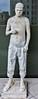 """""""Zombie Boy (City)"""" -  2011 <br /> A  cement sculpture by Marc Quinn."""