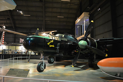 P-61 Black Widow, a night fighter.