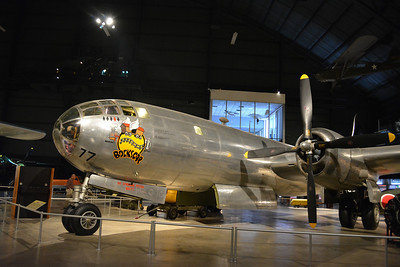 Bocks Car, dropped the atomic bomb on Nagasaki