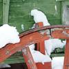 Wagon Wheel - Tinsley House - Museum of the Rockies Bozeman Montana Photography by Jim R Harris