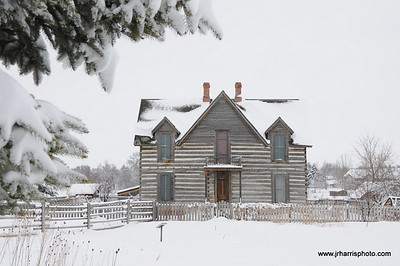 Tinsley House - Museum of the Rockies Bozeman Montana Photography by Jim R Harris