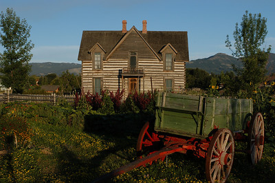 Tinsley House & Wagon - Photography by Jim R Harris