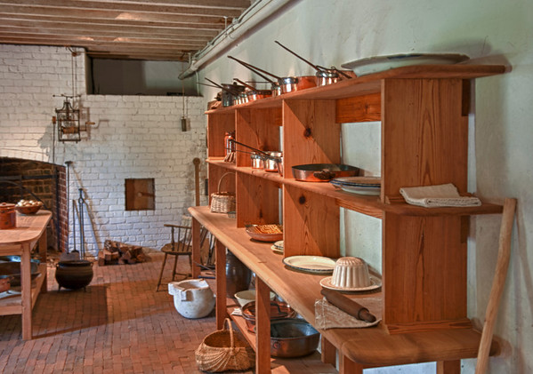 Kitchen at Monticello