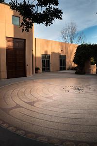 prayer labyrinth at St. Max