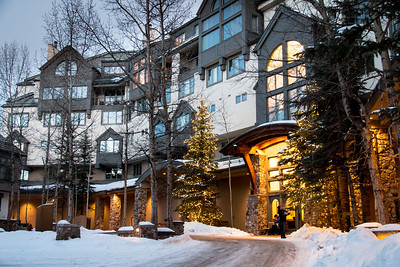 Slopeside building in Beaver Creek